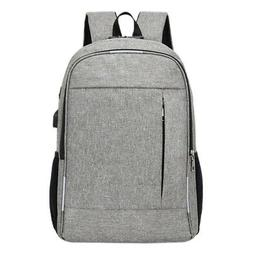 Anti Theft Man Backpack USB Charged Laptop Large Bagpack Tra
