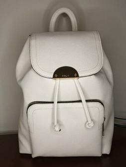 Aldo Bag Purse Cartera Mini Leather Backpack White Bagpack N