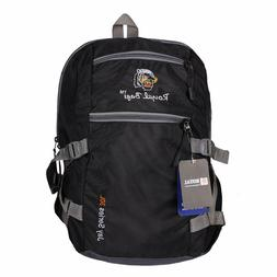 Black Bagpack PU Polyester Tourquise Backpack for Kids 45 Li