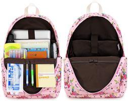 Camtop School Backpack For Girls Teens Bookbag Set Cute Stud
