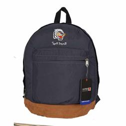Classic Grey School Bag College Bags Casual Backpack Travel