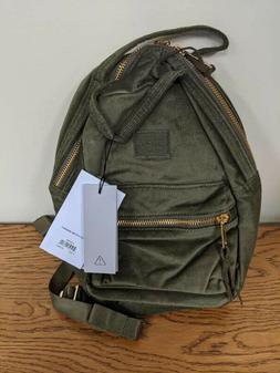 Herschel Corduroy Nova Mini Backpack, Ivy Green