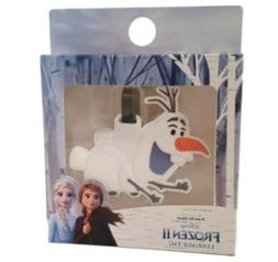 Disney FROZEN II Luggage Tag Travel Label Olaf Childrens Hol