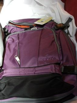 eBags Eggplant Purple travel laptop daypack bagpack bag NWT