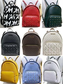 Michael Kors Erin Medium Large ABBEY Backpack MK Signature L