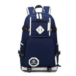 Fashion Backpack College Oxford Backpack Men Laptop Travel B