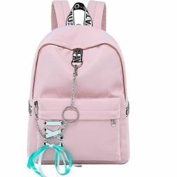 Fashion Waterproof Nylon Women Backpack Korean Girls School