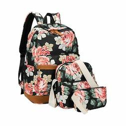 BLUBOON Girls Bookbags School Backpack Laptop Schoolbag for