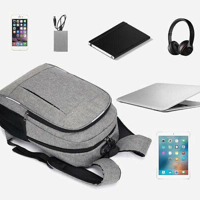 Anti Theft Man USB Charged Laptop Bagpack Me