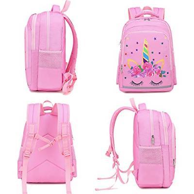 CAMTOP Backpack Kids Girls School Backpack with Lunch Preschool