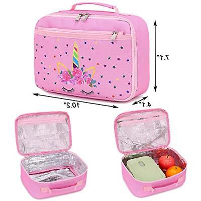 CAMTOP Backpack Kids Girls School Lunch Box