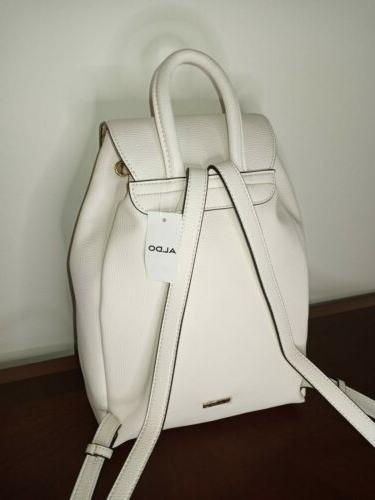 Aldo Purse Cartera Mini Leather Bagpack New!