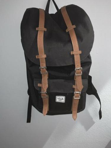 bagpack black laptop equitable
