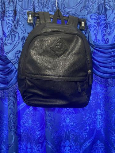 bagpack faux black