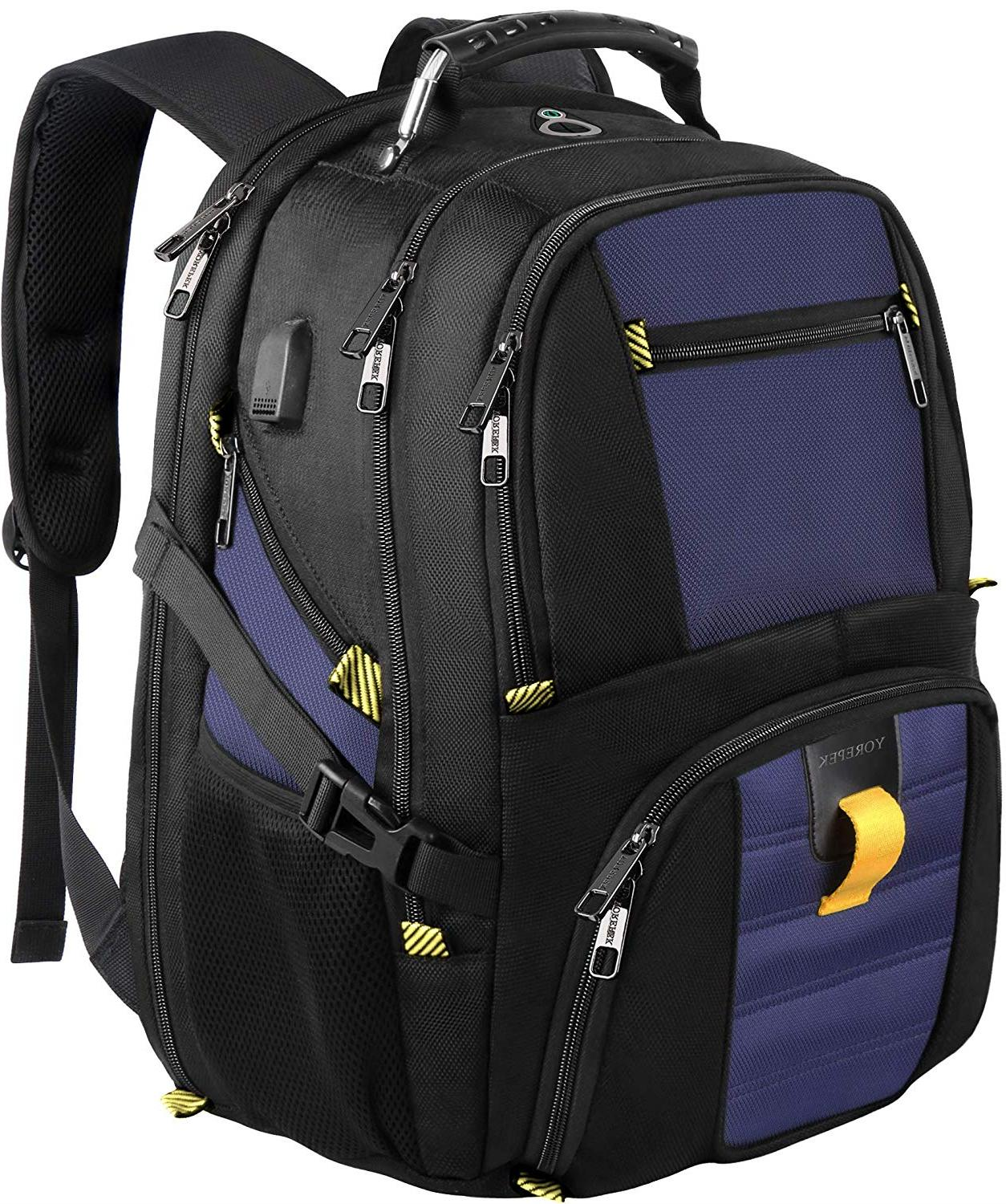 Bagpacks for Men, Extra Large Polyester College School Lapto