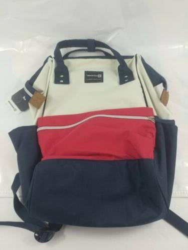 big nylon fabric women backpack large capacity
