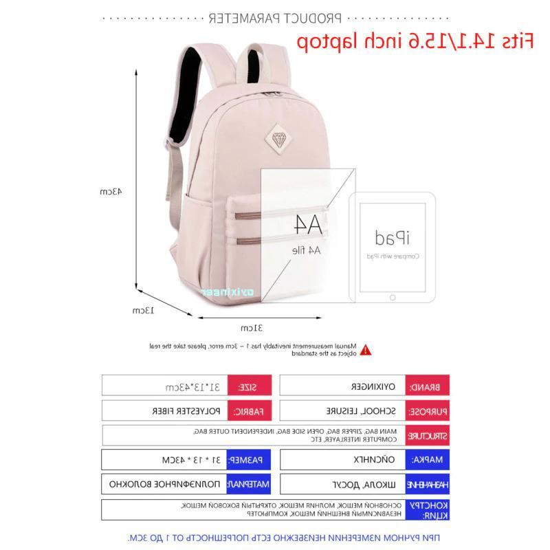 Studentip Backpacks School Bags Waterproof Nylon Shoulders Bagpacks