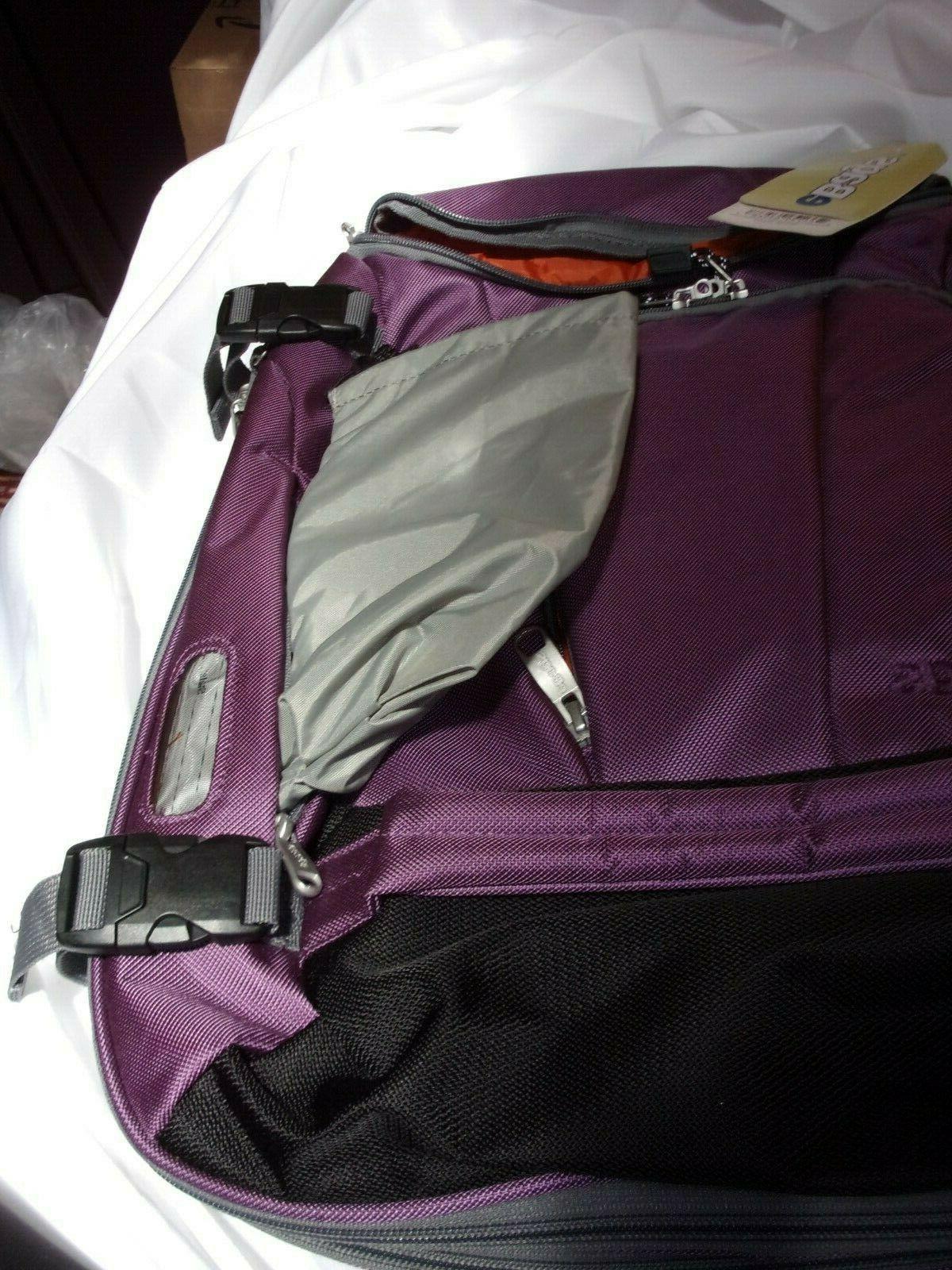 eBags Eggplant laptop daypack bagpack NWT $60