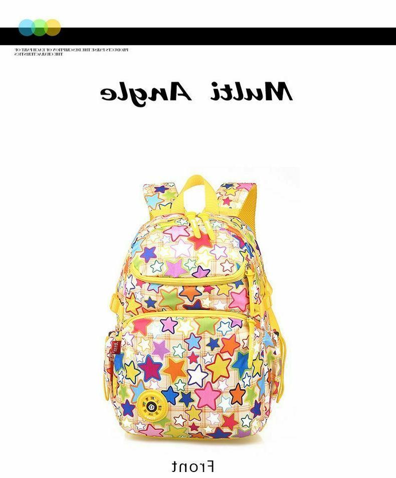 Girls Children Bag Book Storage Slots
