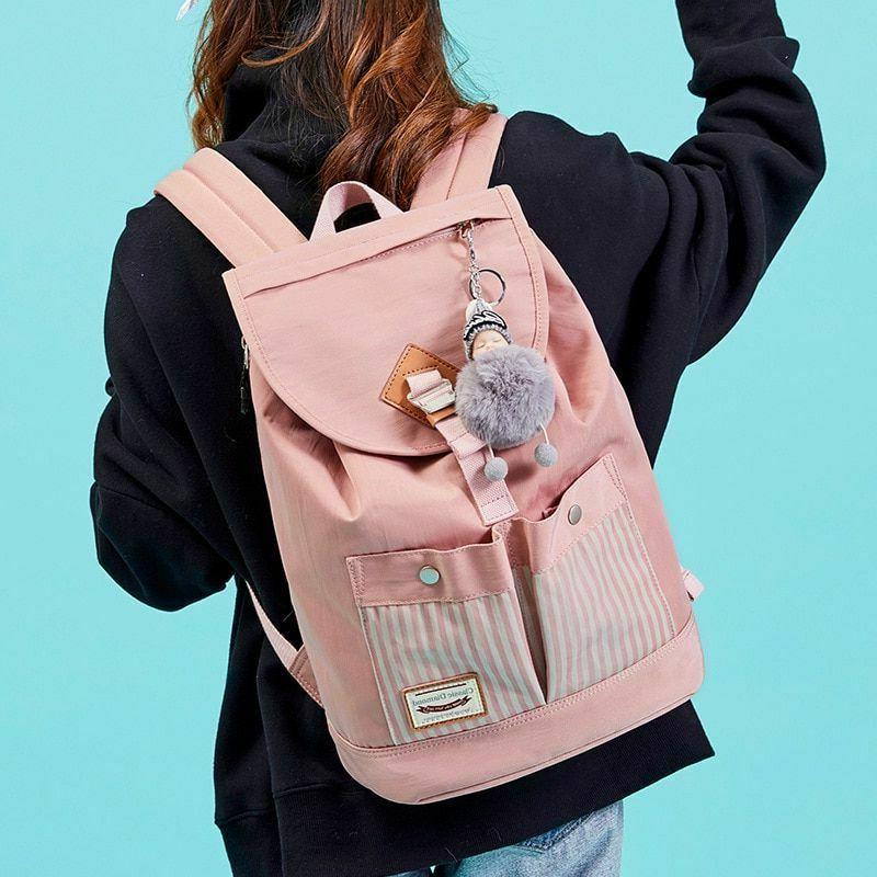 Girls Bagpack College Schoolbag Supply Backpack Student School Bags Tools
