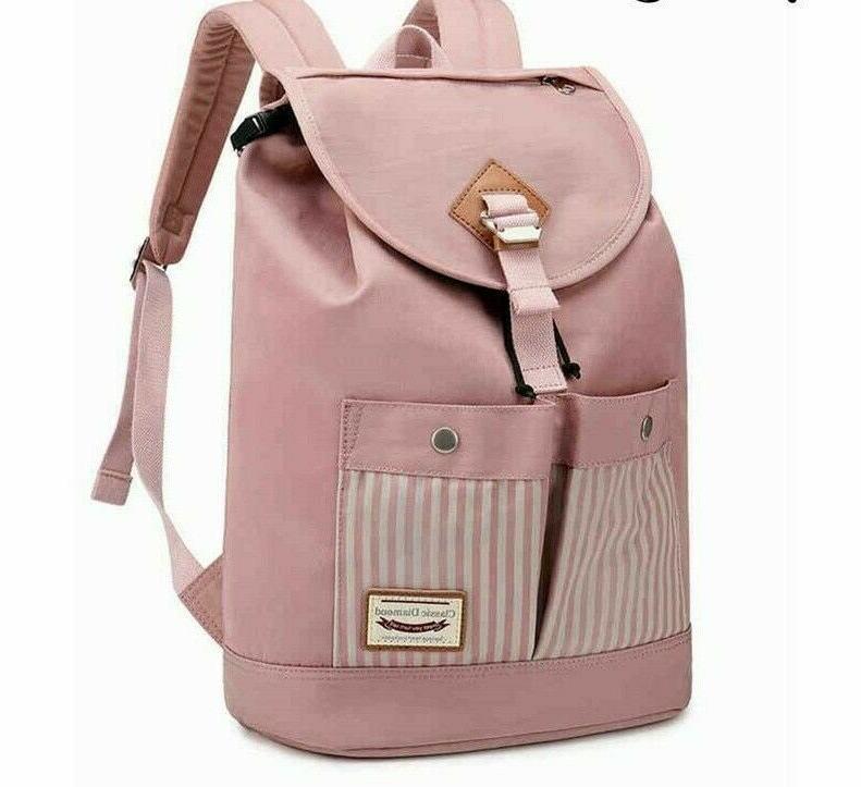girls bagpack college schoolbag supply travel backpack