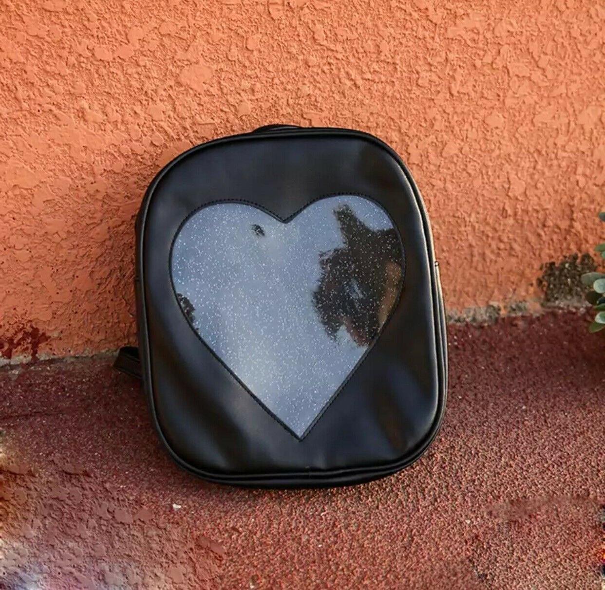 itabag heart bagpack black