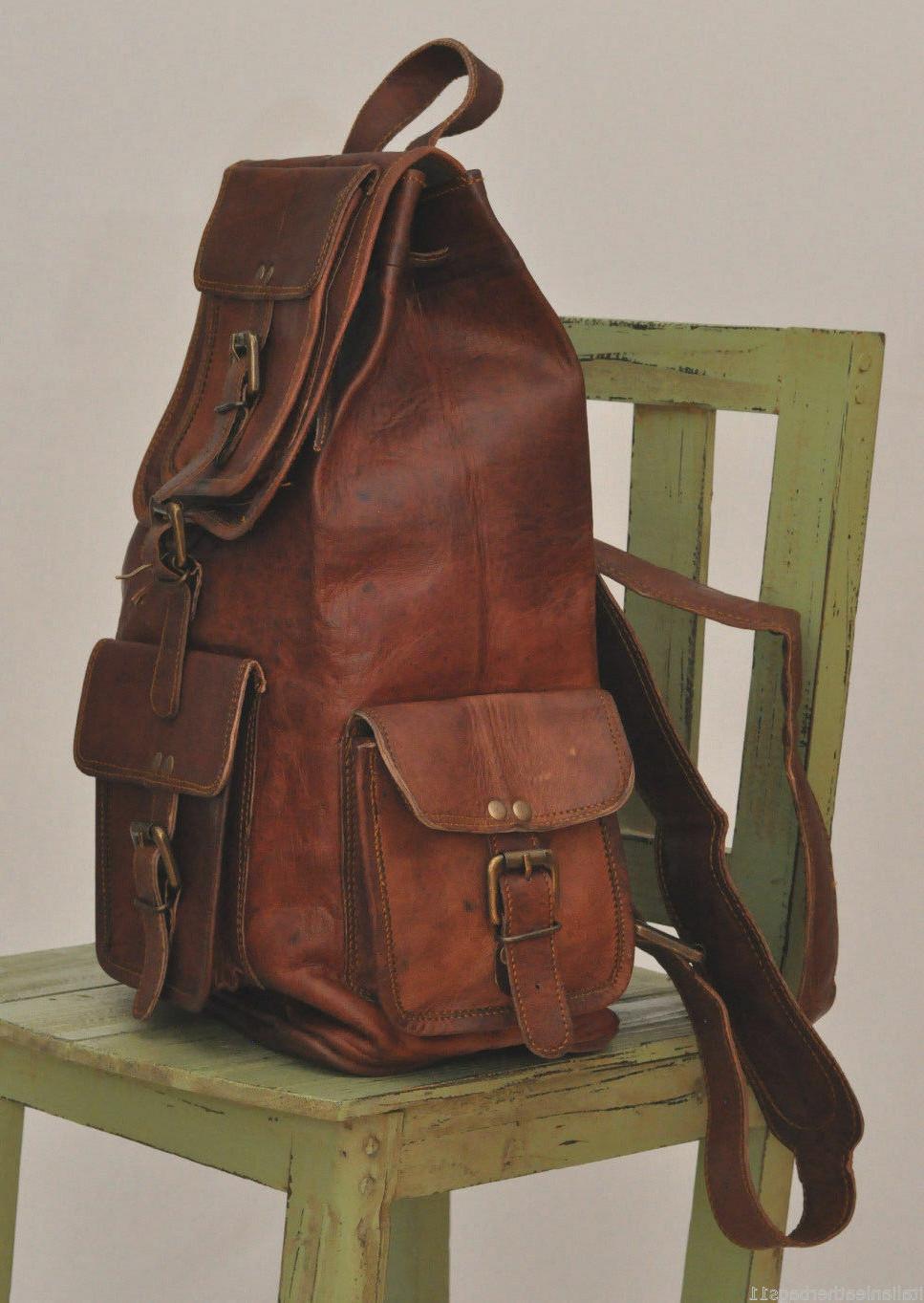 Leather Women Genuine Travelling School