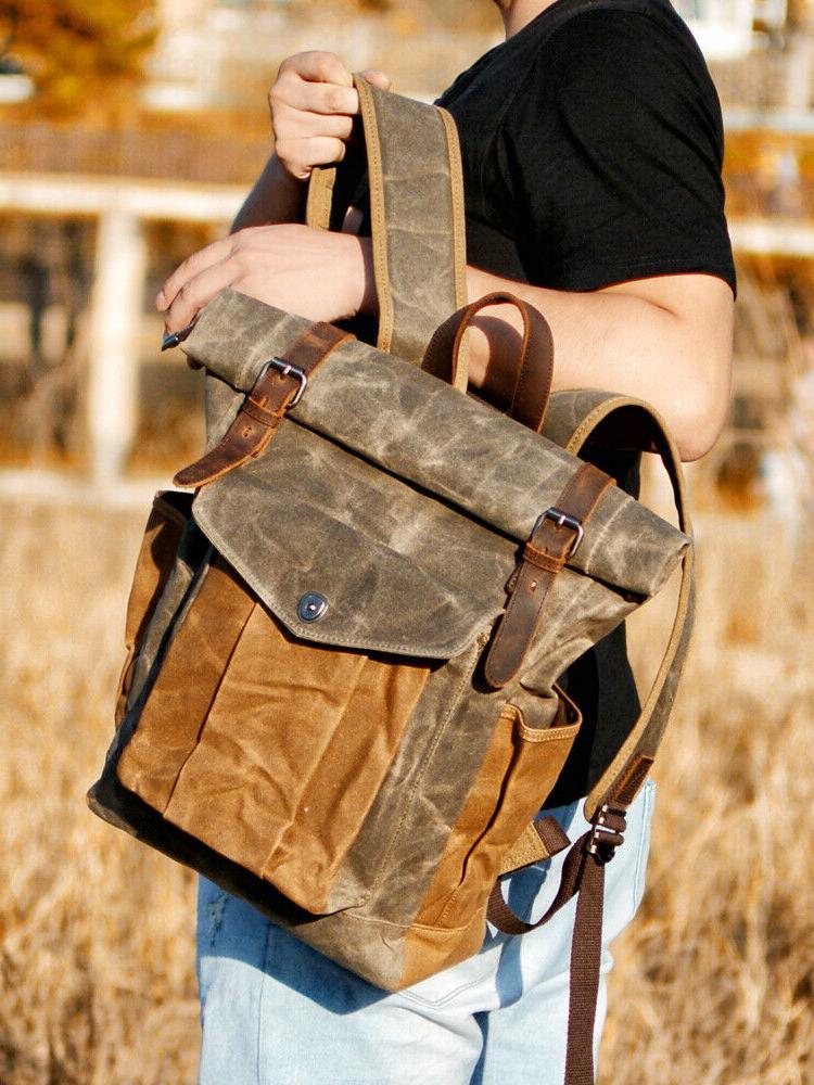 Leather Daypacks Bagpack
