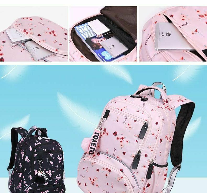New schoolbag Student Waterproof bagpack