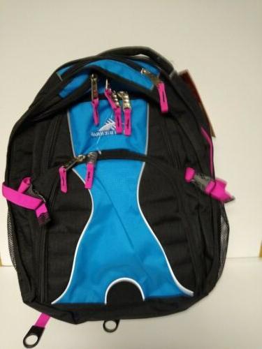 nwt swerve backpack pink blue black women