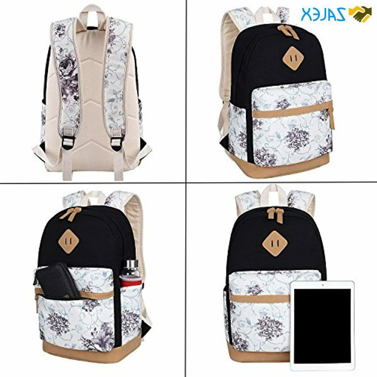 BLUBOON School Canvas Women Ladies