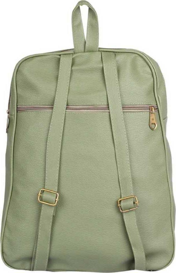 Student Women Tuition Soldier Clutches Solder Green Bagpack