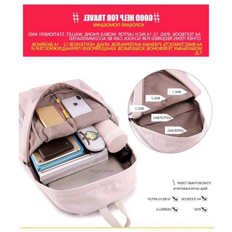 Studentip Backpacks Kids Woman's School Bags Nylon Shoulders Bagpacks