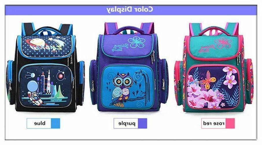 Unisex Backpack Kids Bags Animal Print