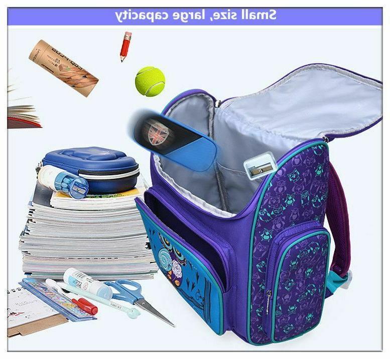 Unisex Backpack Bags Book Bagpack Animal Print Elementary Schoolbags