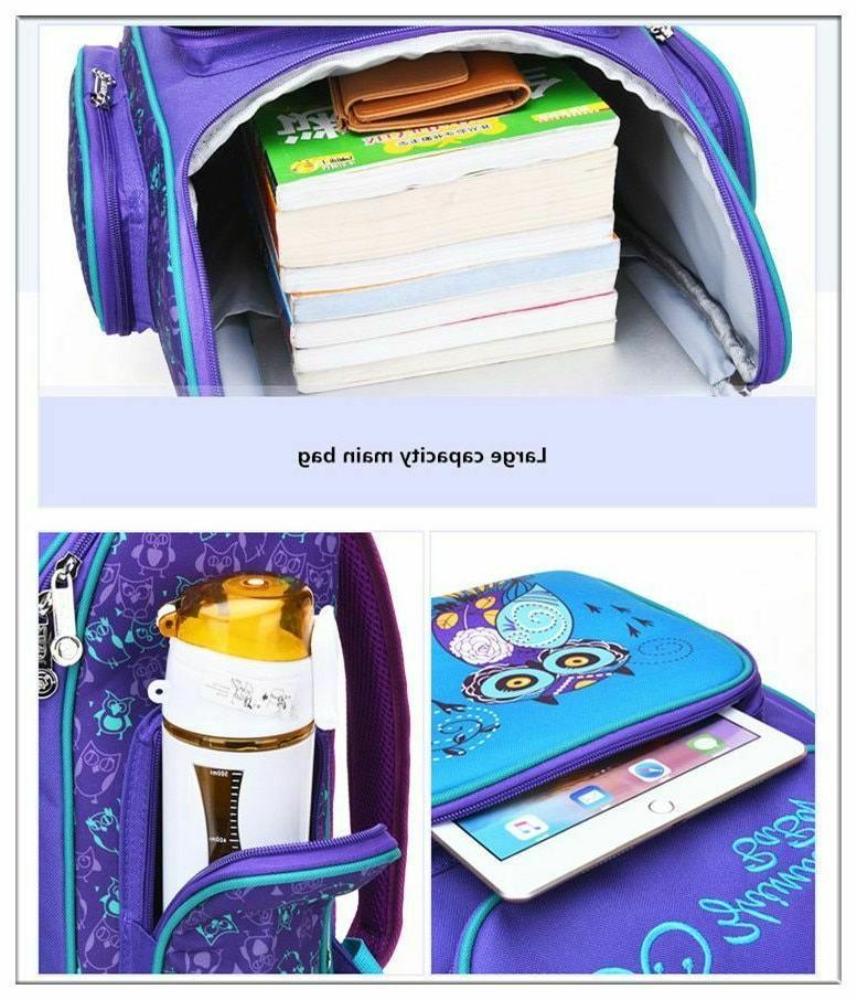 Unisex Backpack Kids Bags Print