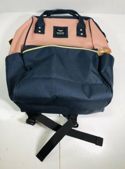 Himawari Laptop Backpack Travel Bag with USB Charging Port D