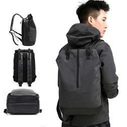 Men Big Backpacks 15.6 Laptop Shoulder School Book Bag Colle