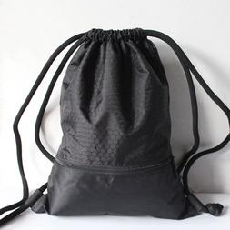 Men Women Backpack Outdoor Sports Drawstring Bag Fitness Bag