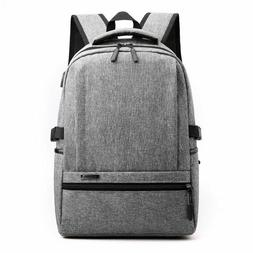 Mens Bagpack School Bag Laptop Case Storage Backpack College
