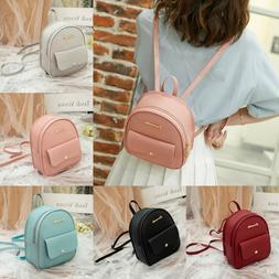 Mini Backpack Women Leather Shoulder Bag For Teenage Girls S