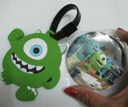 muke wazowski luggage tag baggage bagpack suitcase & sulley