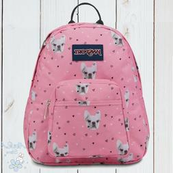NWT JANSPORT AUTHENTIC WOMENS CUTE FIERCE FRENCHIES DOG HALF