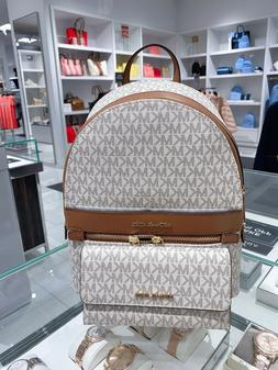 NWT Michael Kors Kenly Medium Backpack & Trifold Wallet Sign