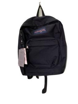 NWT JanSport Super Break Black Bagpack Book Bag JS00T501008