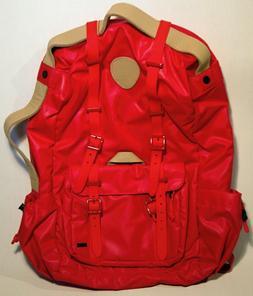 pajar waterproof bagpack for men red
