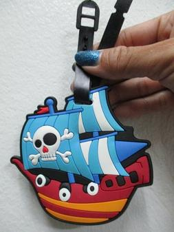 pirate ship luggage tag Luffy one piece baggage tag for bagp