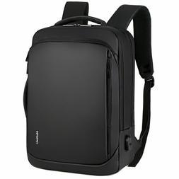 Professional Men Business Backpack Travel Waterproof Slim La