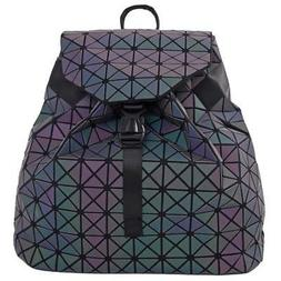 Rainbow  Backpack with Draw Strings for Women Fashion - Doub