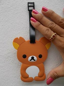 Rilakkuma brown bear luggage tag baggage tag for bagpack sui